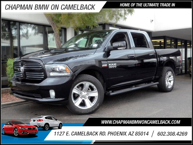 2014 Ram 1500 Sport Crew Cab 29128 miles 1127 E Camelback BUY WITH CONFIDENCE Chapman BM