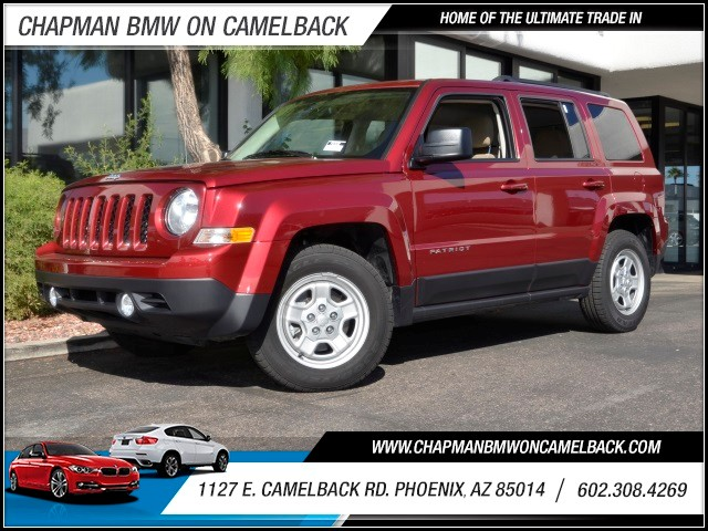 2015 Jeep Patriot Sport 5790 miles Cruise control Anti-theft system engine immobilizer Steerin