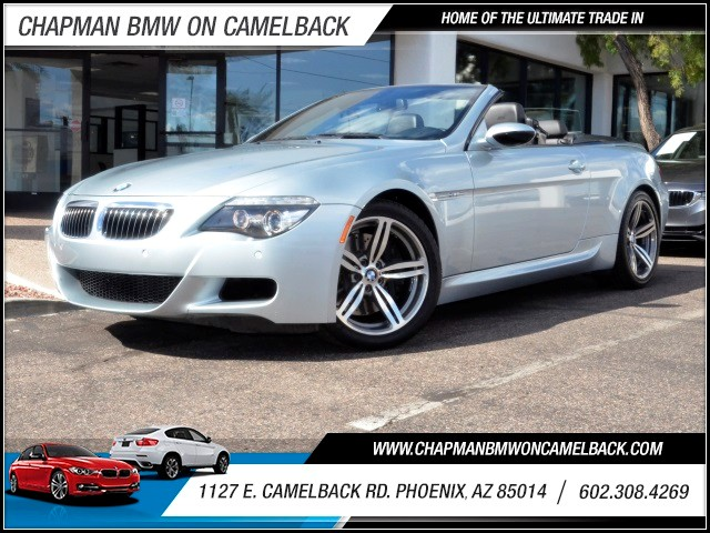 2008 BMW M6 50865 miles 1127 E Camelback BUY WITH CONFIDENCE Chapman BMW is located at 1