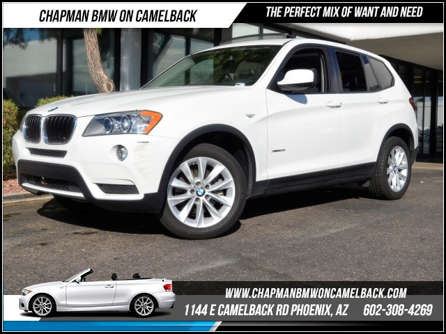 2013 BMW X3 xDrive28i ConvPremNav 27378 miles Black Friday Sales Event at Chapman BMW on Camelb