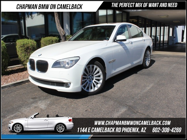 2012 BMW 7-Series 750i 30266 miles 1144 E Camelback rd 6023852286 Financing rates sta