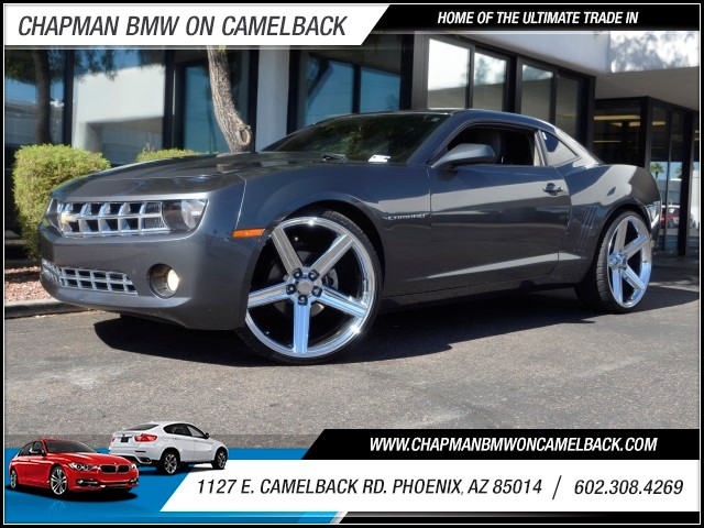 2011 Chevrolet Camaro LT 97960 miles 1127 E Camelback BUY WITH CONFIDENCE Chapman BMW is