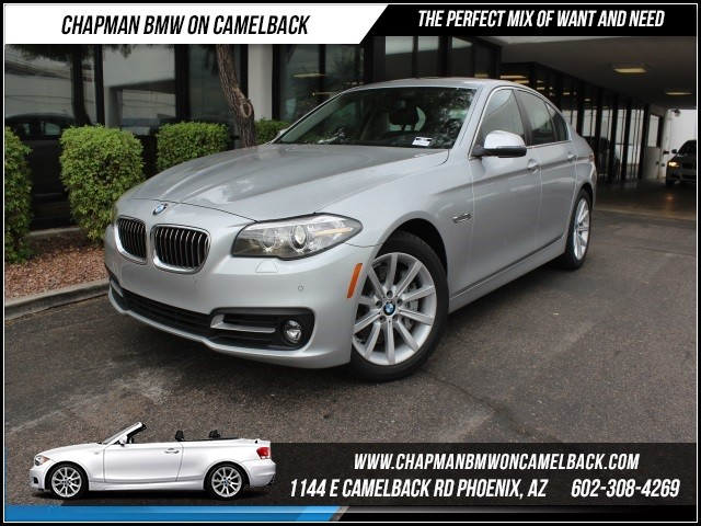 2015 BMW 5-Series 535i Prem Driver Assist Nav 10217 miles Black Friday Sales Event at Chapman BMW