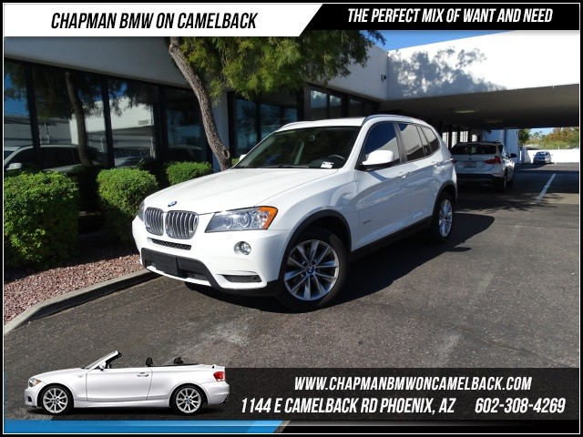 2014 BMW X3 xDrive28i NAV TechPremDrivers 16667 miles Black Friday Sales Event at Chapman BMW o