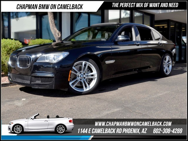 2013 BMW 7-Series 740Li Mspt Pkg Nav 36940 miles Black Friday Sales Event at Chapman BMW on Camel