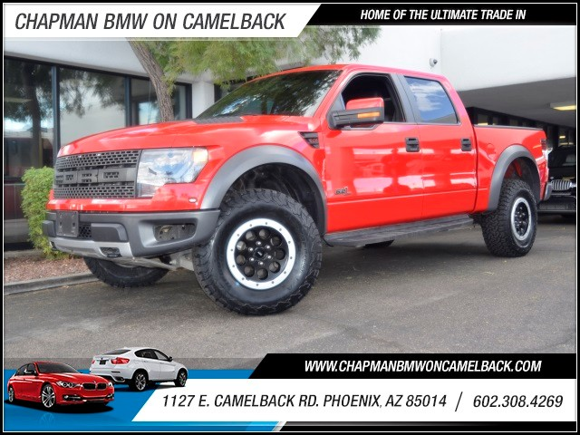 2014 Ford F-150 SVT Raptor Crew Cab 42062 miles 602 385-2286 1127 E Camelback HOME OF THE UL