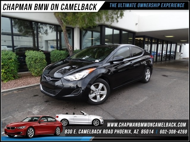 2013 Hyundai Elantra GLS 40814 miles 1127 E Camelback BUY WITH CONFIDENCE Chapman BMW is
