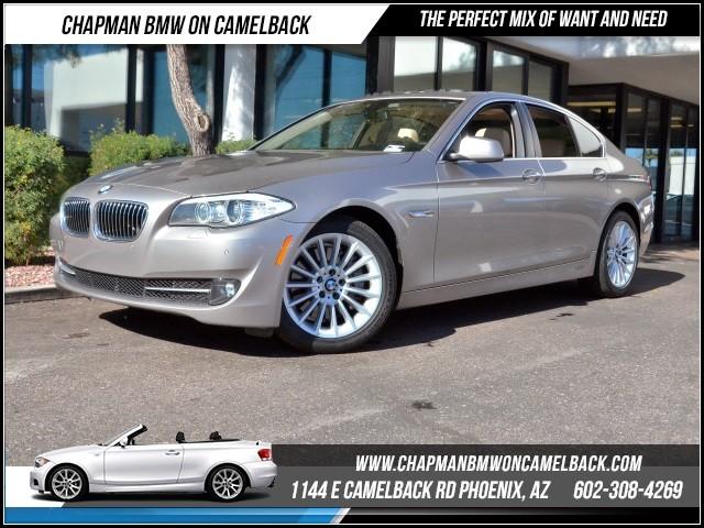 2013 BMW 5-Series 535i Prem Pkg Nav 36094 miles 1144 E Camelback RdChapman BMW on Camelbacks Ce