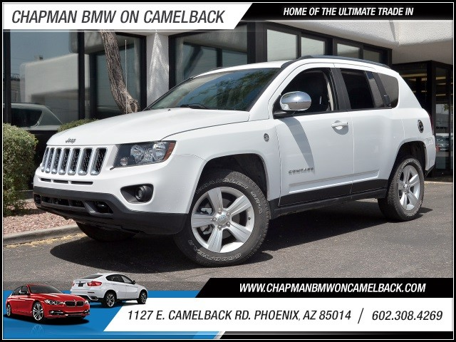 2014 Jeep Compass Sport 6951 miles 602 385-2286 1127 E Camelback HOME OF THE ULTIMATE TRADE