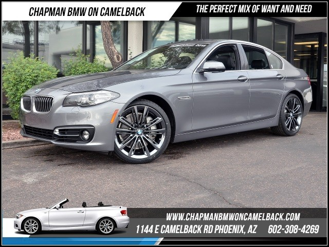 2015 BMW 5-Series 535i Lux LinePremNavDriver As 12211 miles 1144 E Camelback RdChapman BMW o