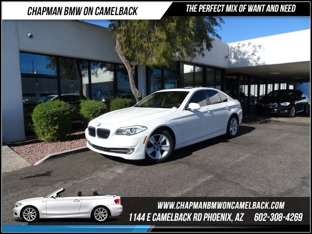 2013 BMW 5-Series 528i 32328 miles 1144 E Camelback RdChapman BMW on Camelbacks Certified Pre O