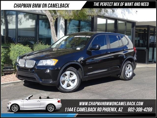 2012 BMW X3 xDrive28i 47920 miles 1144 E Camelback RdChapman BMW on Camelbacks Certified Pre Ow