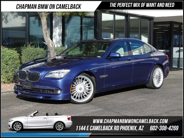 2012 BMW 7-Series ALPINA B7 SWB 35245 miles 1144 E Camelback RdChapman BMW on Camelbacks Certif