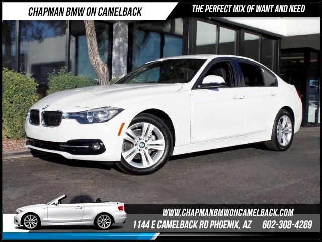 2016 BMW 3-Series Sdn 328i SportDriver Assist Pkg Nav 8286 miles 1144 E Camelback RdChapman BM
