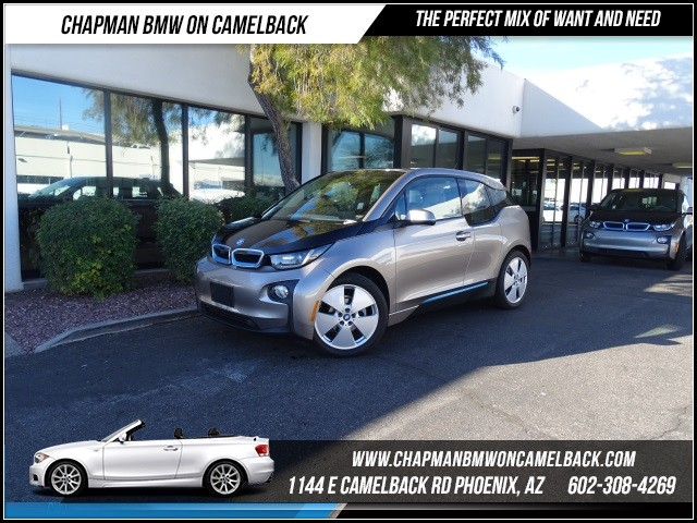 2014 BMW i3 16768 miles 1144 E Camelback RdChapman BMW on Camelbacks Certified Pre Owned BMW Wi