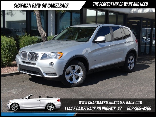 2011 BMW X3 xDrive28i 35494 miles Premium Package Cold Weather Package Phone pre-wired for phon