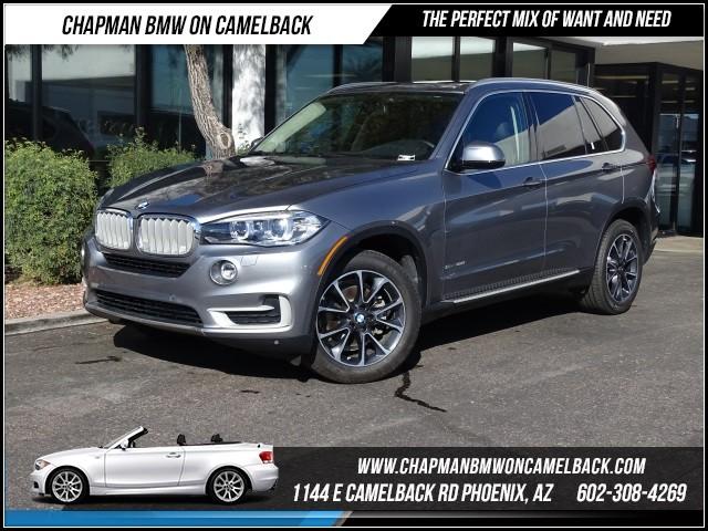 2016 BMW X5 sDrive35i Prem Pkg Nav 8280 miles 1144 E Camelback RdChapman BMW on Camelbacks Cert