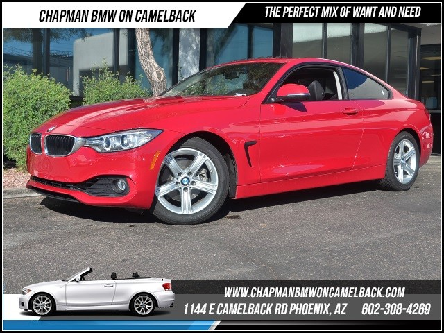 2014 BMW 4-Series 428i 15155 miles 1144 E Camelback Rd 6023852286Chapman BMW on Camelbacks