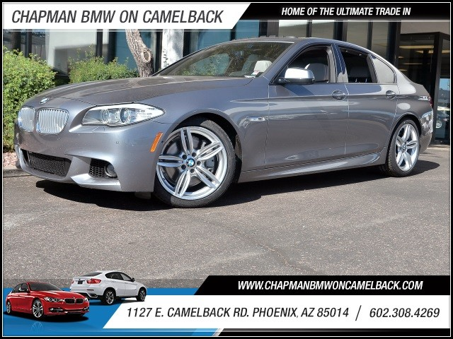 2013 BMW 5-Series 550i 48040 miles M Sport Package Driver Assistance Package Executive Package