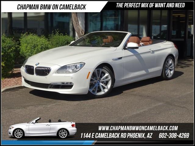 2013 BMW 6-Series 640i ExecNavHeads Up 30378 miles 1144 E Camelback RdChapman BMW on Camelbac