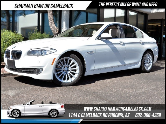 2013 BMW 5-Series 535i xDrive 33363 miles Premium Package Technology Package Driver Assistance