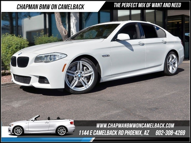 2013 BMW 5-Series 535i 32795 miles M Sport Package Premium Package Technology Package Satellit