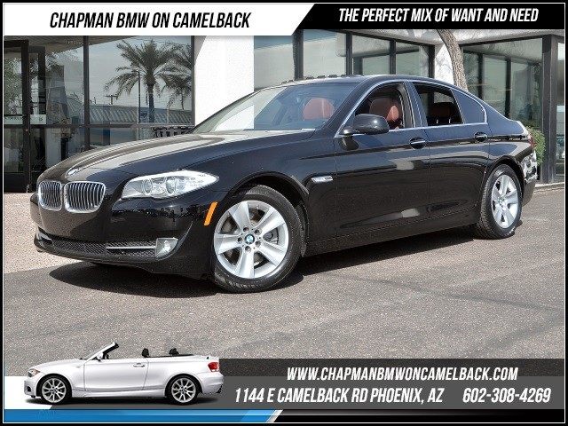 2013 BMW 5-Series 528i Nav 23711 miles 1144 E Camelback Rd 6023852286Chapman BMW on Camelb