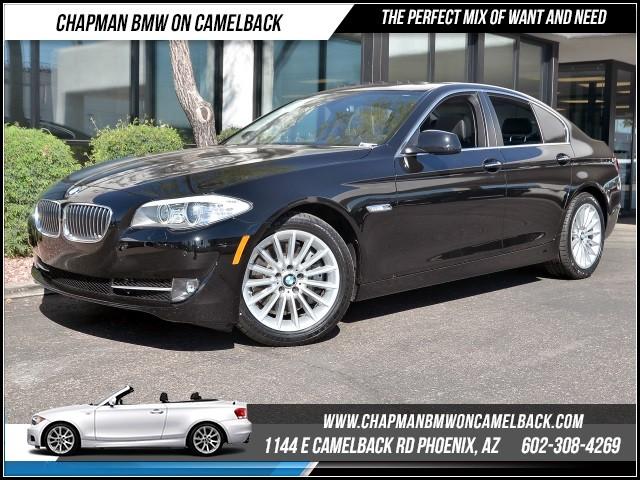 2013 BMW 5-Series 535i Prem Pkg Nav 30708 miles 1144 E Camelback Rd 6023852286Chapman BMW