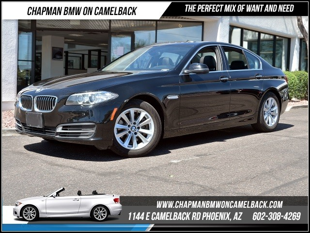 2014 BMW 5-Series 528i Nav 30584 miles 1144 E Camelback Rd 6023852286Chapman BMW on Camelb