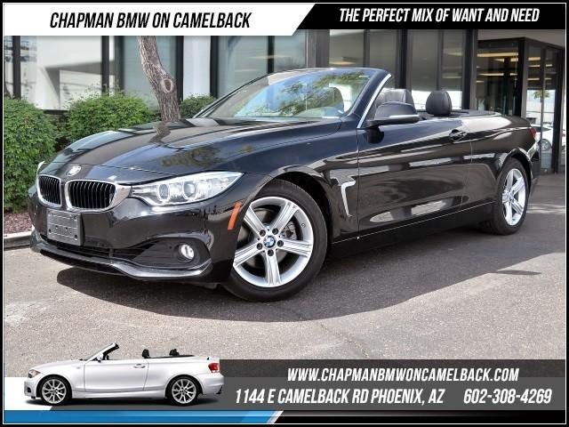 2015 BMW 4-Series Conv 428i Prem Pkg 30632 miles 1144 E Camelback Rd 6023852286Chapman BMW