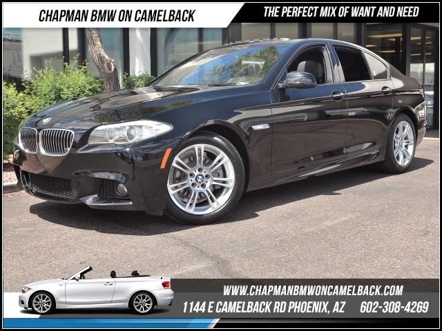 2013 BMW 5-Series 528i M SportPremTech Pkg 45013 miles 1144 E Camelback Rd 6023852286Cha