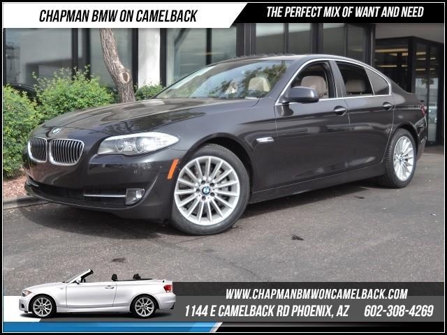 2013 BMW 5-Series 535i PremTechDriver Asst Pkg 35841 miles 1144 E Camelback Rd 6023852286