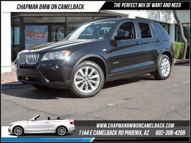 2013 BMW X3 xDrive28i Prem Pkg Nav 39652 miles 1144 E Camelback Rd 6023852286Drive for a c