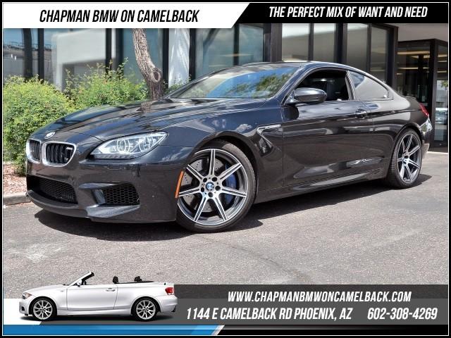 2014 BMW M6 Coupe CompExec Driver Assist Pk 44280 miles 1144 E Camelback Rd 6023852286Cha
