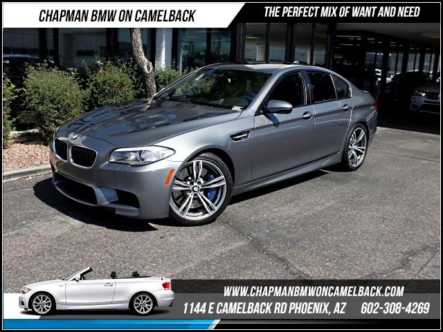 2013 BMW M5 ExecDriver Assist PkgNav 41784 miles 1144 E Camelback Rd 6023852286Drive for