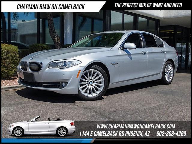 2012 BMW 5-Series 535i xDrive Prem pkg 42670 miles 1144 E Camelback Rd 6023852286Drive for