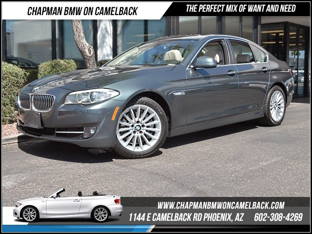 2013 BMW 5-Series 535i PremTech Pkg 32435 miles Premium Package Technology Package Satellite c