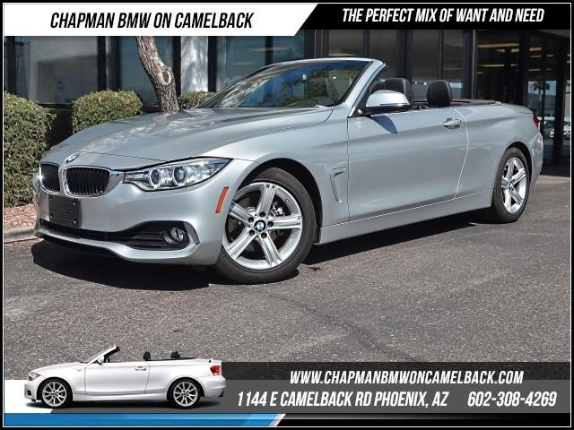 2015 BMW 4-Series Conv 428i Prem Pkg 31845 miles 1144 E Camelback Rd 6023852286Chapman BMW