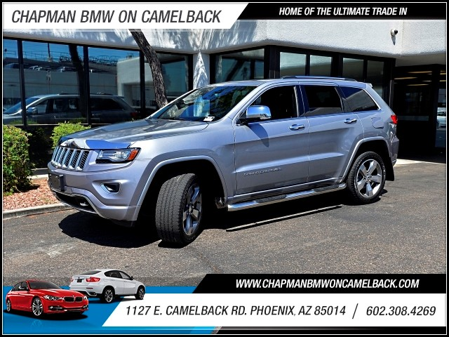 2014 Jeep Grand Cherokee Overland 42994 miles 602 385-2286 1127 E Camelback HOME OF THE ULTI
