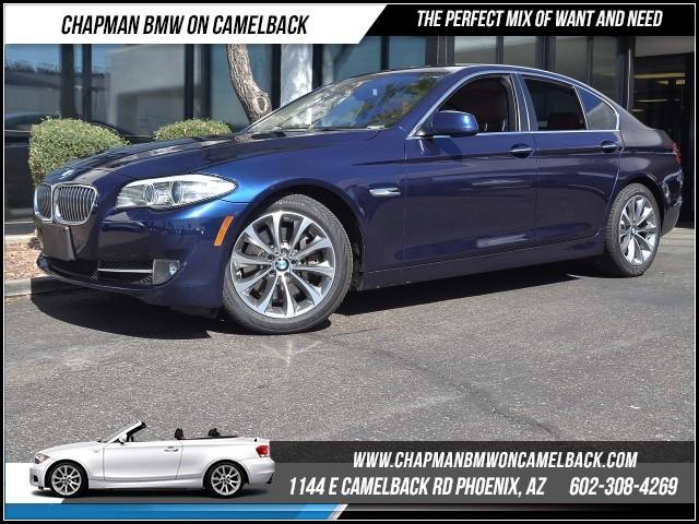 2013 BMW 5-Series 535i xDrive PremTechCold Wthr 42273 miles 1144 E Camelback Rd 6023852286