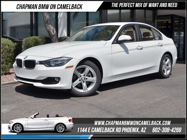 2015 BMW 3-Series Sdn 320i 3581 miles 1144 E Camelback Rd 6023852286Chapman BMW on Camelba