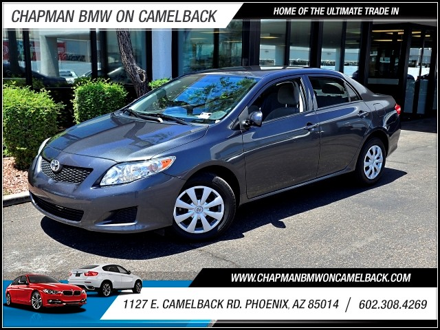 2010 Toyota Corolla LE 93738 miles 602 385-2286 1127 E Camelback HOME OF THE ULTIMATE TRADE
