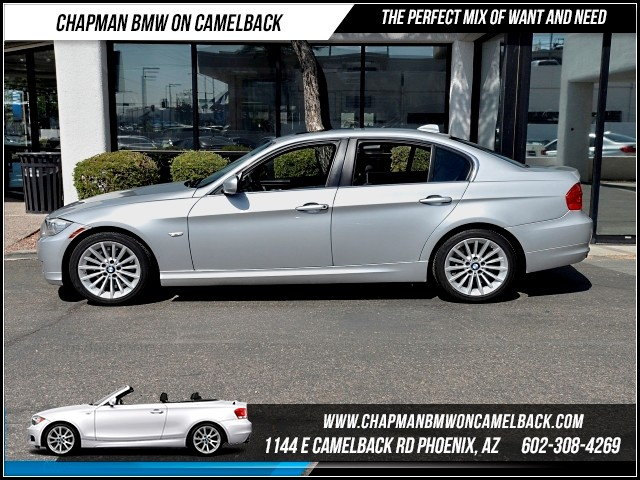 2011 BMW 3-Series Sdn 335i 102271 miles Cruise control Anti-theft system audio security system