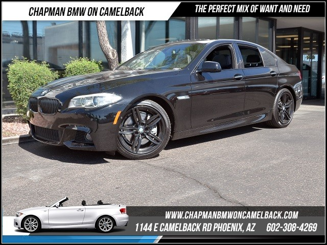 2013 BMW 5-Series 550i 27084 miles M Sport Package Driver Assistance Package Cold Weather Packa