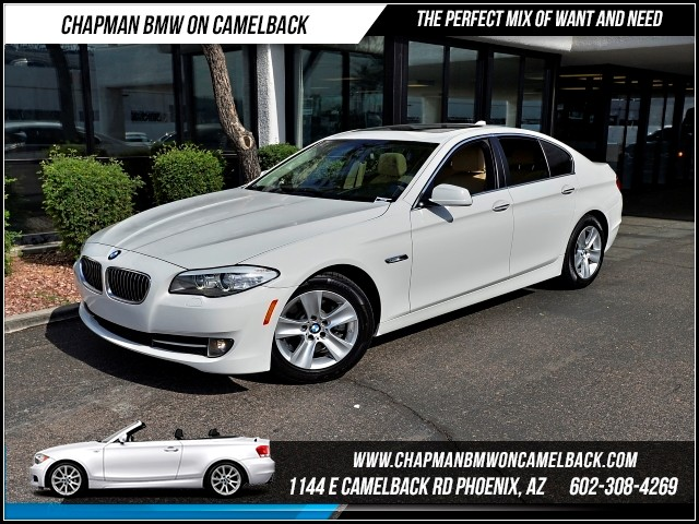 2013 BMW 5-Series 528i 33871 miles Satellite communications BMW Assist Wireless data link Blueto