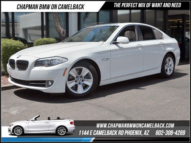 2013 BMW 5-Series 528i 37678 miles Premium Package Satellite communications BMW Assist Wireless