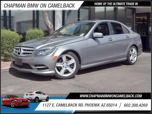 2011 Mercedes C-Class C300 Luxury 4MATIC 35061 miles 602 385-2286 1127 E Camelback HOME OF T