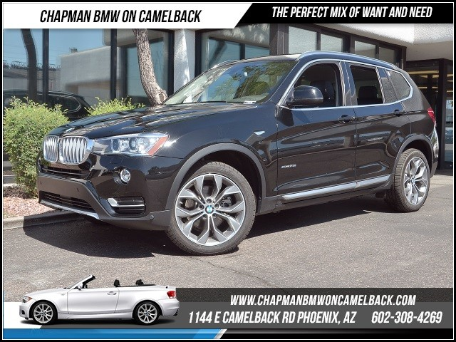 2016 BMW X3 xDrive28i X Line TechLighting P 12531 miles 1144 E Camelback Rd 6023852286Why