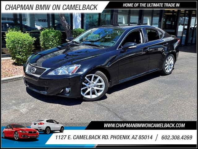 2013 Lexus IS 250 34359 miles 602 385-2286 1127 E Camelback HOME OF THE ULTIMATE TRADE IN