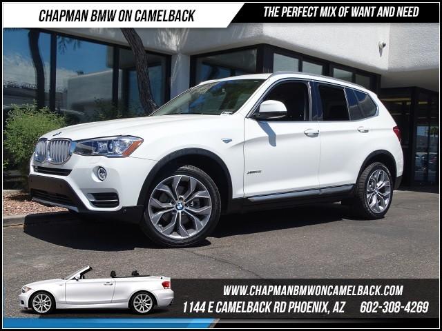 2016 BMW X3 xDrive28i XlineTech Pkg Nav 8833 miles 1144 E Camelback Rd 6023852286Why Buy